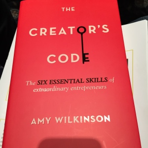 Amy Wilkinson's new book draws on interviews from 200 top entrepreneurs who scaled businesses over $100 million or  over 100 million served.  Includes broad research into views from other disciplines on high-scale entrepreneurs.