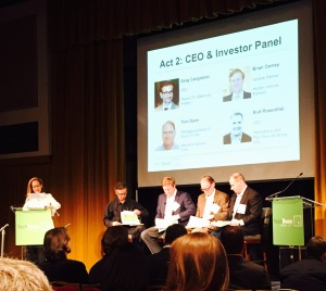 Act 2: MAVA's Julia Spicer introduces CEO and Investor Panel for  feedback session.