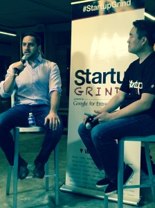 Hooman Radfar tells the crowd at Startup Grind DC: